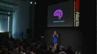 Global neural network cloud service for breast cancer detection: Brittany Wenger at TEDxAtlanta