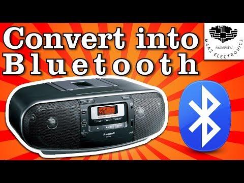 DIY Convert Cassette Tape to Bluetooth MP3 Player Urdu, Hindi