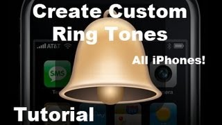 Tutorial: How To Make FREE Custom RingTones For iPhone 4s & 4 | Music/Songs from iTunes 10 | 3gs 3g