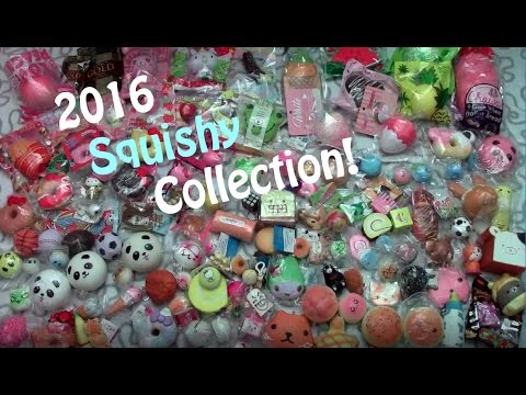 Squishy Collection 2016 : 2016 Squishy Collection!!! - YouTube