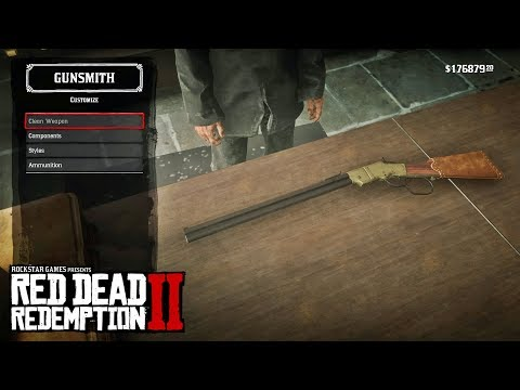 RED DEAD REDEMPTION 2 – LITCHFIELD REPEATER (WEAPONS & WEAPON CUSTOMIZATION/SHOWCASE)