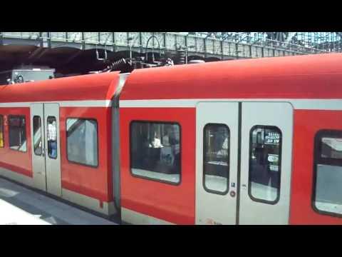 S Bahn in Munich, Germany