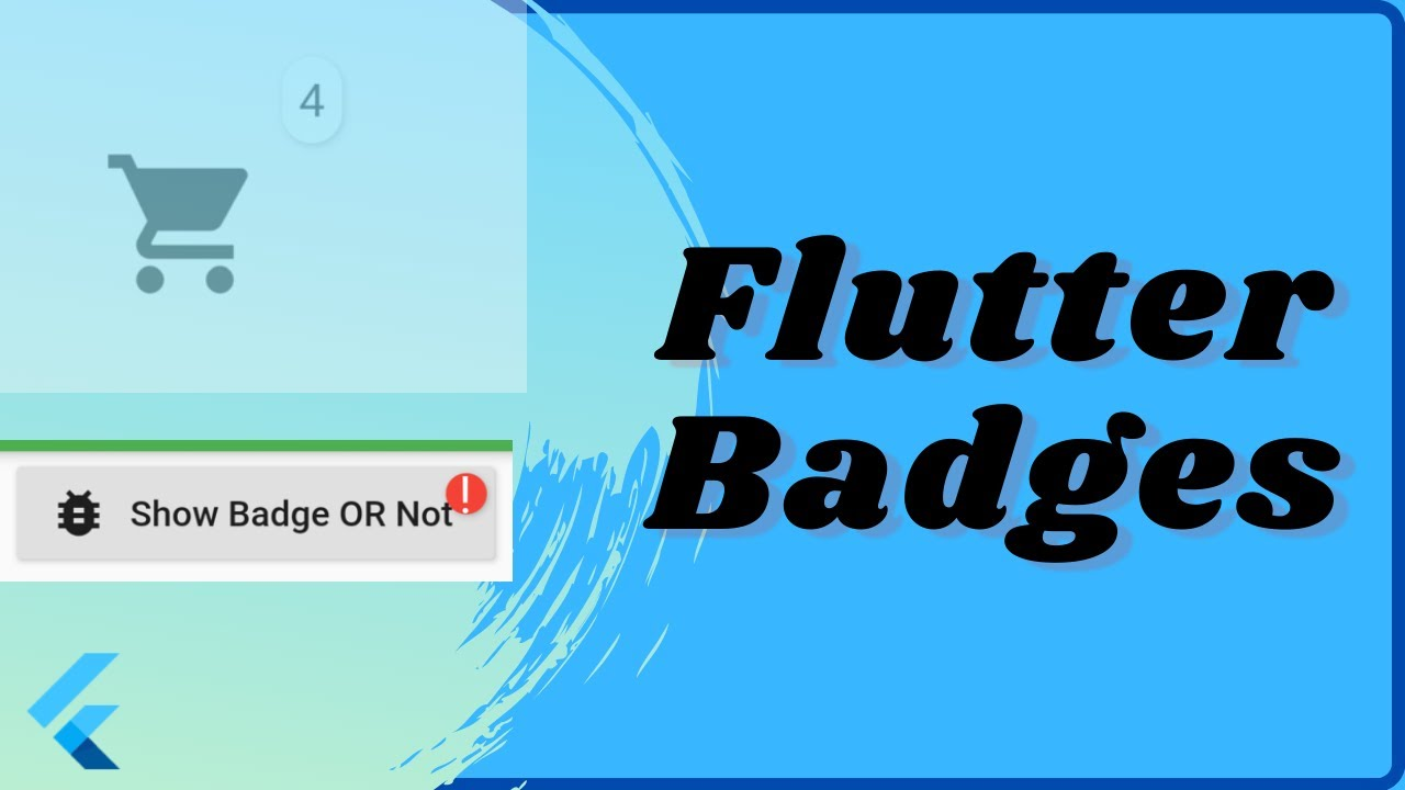 Flutter Notification Badges Simple Example