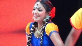 Amma Stage Show Rehersal 2013  MYTHILI DANCING