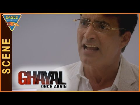 Ghayal Once Again Hindi Movie || Narendra Argues With His Mother || Sunny Deol || Eagle Hindi Movies