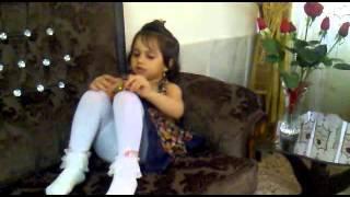 درسا نابغه 3 ساله ایرانی