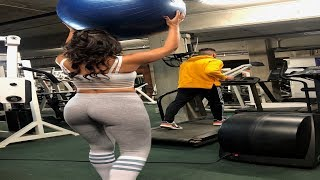 Boyfriend VS Girlfriend Exercise Ball Compilation!
