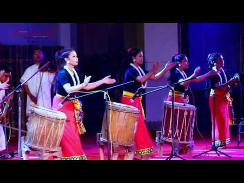 DANCING DRUM  RHYTHM OF MANIPUR