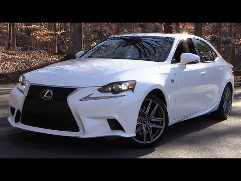 2016 Lexus IS200t F-Sport Start Up, Road Test, and In Depth Review
