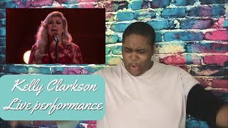 Kelly Clarkson - I Don't Think About You (Live on The Voice) | Reaction Mp3