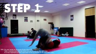 TOP BASIC KNEEBAR [easy] *Movement Analysis (Grappling, BJJ)