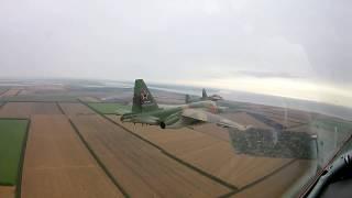 Подготовка летчиков-штурмовиков ЮВО к авиационным парадам 24 июня