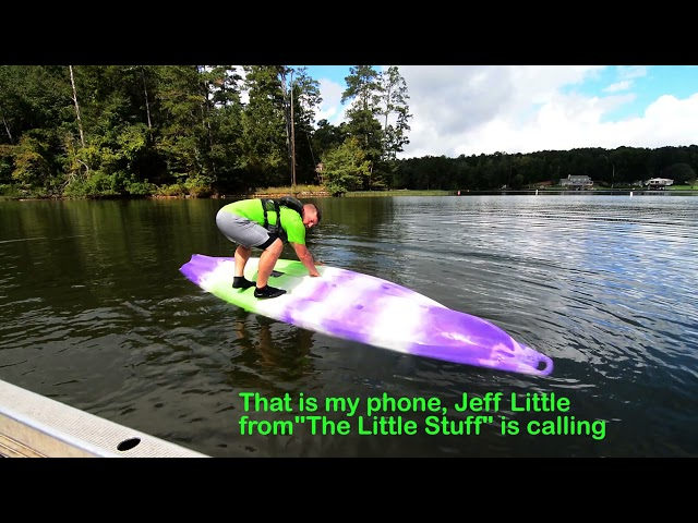 How to Flip an Extra Large Kayak Back Over