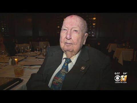 Maverick - World War II Hero From North Texas Honored On 100th Birthday