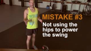 5 Most Common Kettlebell Swing Mistakes (and How to Fix Them)