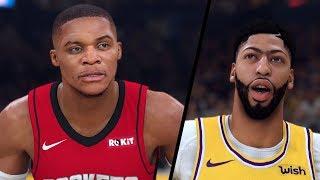 NBA 2K20 - Houston Rockets vs. Los Angeles Lakers - Full Gameplay