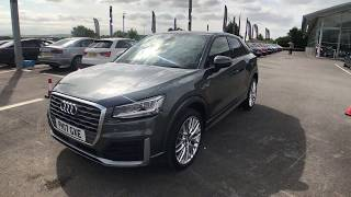 Audi Q2 1.6TDI (115ps) S-Line For sale at Swansway Blackburn Audi