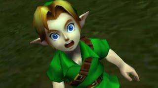 The Legend of Zelda: Ocarina of Time 3D 100% Walkthrough Part 1 - Intro + Deku Tree
