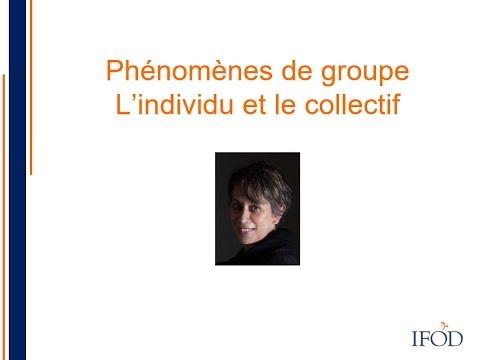 Webinar : Phénomènes de groupe - L'individu et le collectif