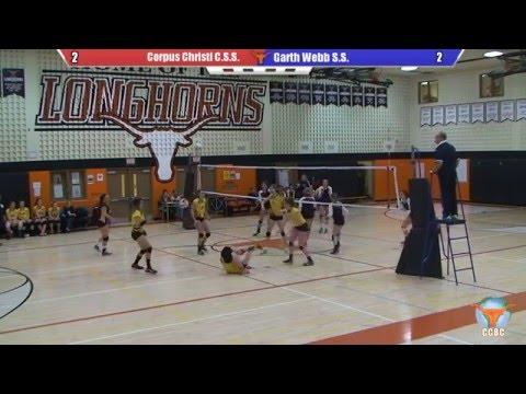 Corpus Christi C.S.S vs. Garth Webb S.S. - Senior Girls Volleyball