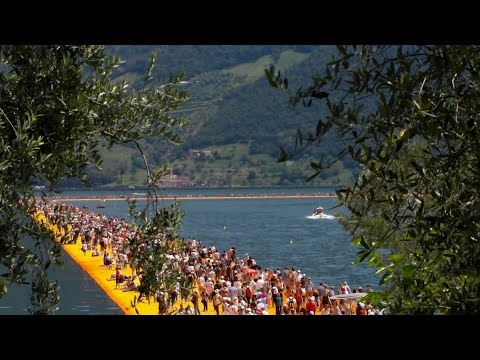 Christo e Jeanne Claude The Floating Piers 3D - La Passerella di Christo - Percorso Completo
