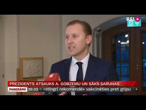 Prezidents atsauks A. Gobzemu un sāks sarunas