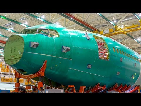 BOEING 777x Assembly PICTURE Revealed