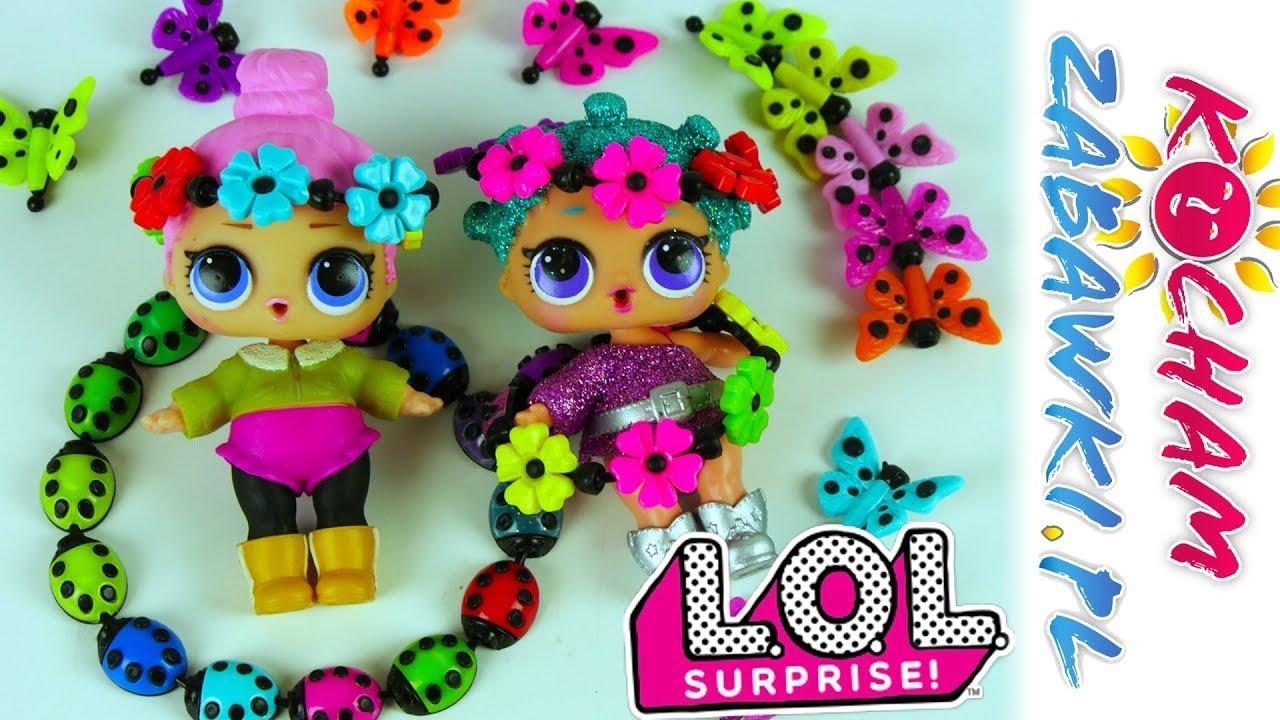 LOL Surprise • Clikies • Biedronki i Motylki w biżuterii • Zrób to sam • Kreatywne zabawki