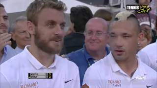 Djokovic & Totti vs Wozniacki & Florenzi Exhibition HD ROME 2015