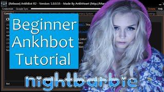 Make a Bot, Personalize Settings & Create Commands: Ankhbot