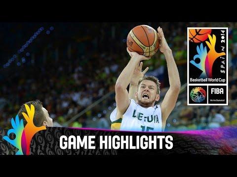 Lithuania v Slovenia - Games Highlights - Group D - 2014 FIBA Basketball World Cup