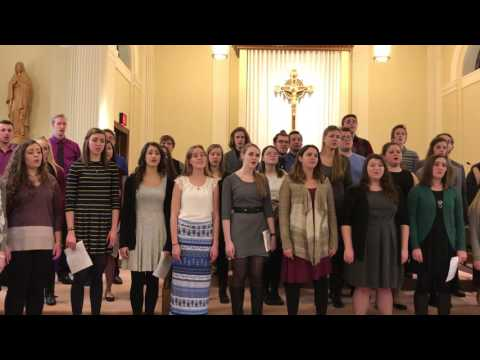 """""""There Is Faint Music"""" by Dan Forrest - Viterbo University Concert Choir 