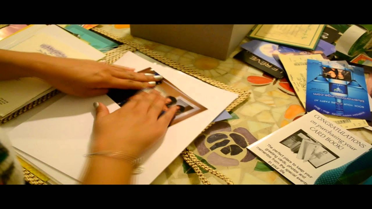 The Card Book Greeting Cardphoto Album A Video Demonstration Of