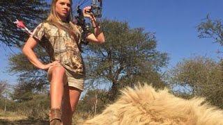 Cruel Woman Is Killing Endangered Animals For Fun