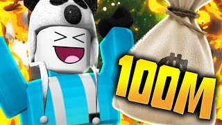 I GOT OVER 100 MILLION COINS!! | Roblox (Portal Heroes)