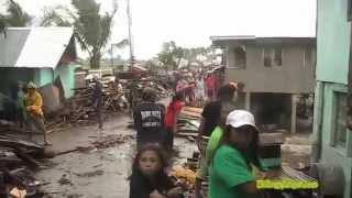 Typhoon Glenda (Rammasun) Storm surge in Brgy. Sto. Niño, Naval, Biliran