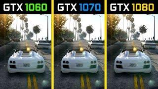 GTA V GTX 1060 vs. GTX 1070 vs. GTX 1080 4K