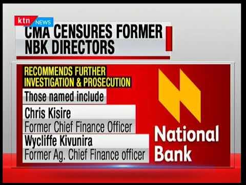 CMA fines Solomon Alubala former head of treasury at National Bank of Kenya Sh104.8 million