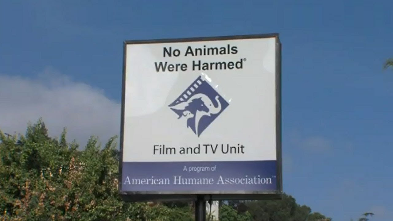 American humane no animals were harmed