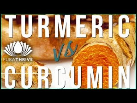 Turmeric vs. Curcumin: Health Benefits | PuraTHRIVE- Thomas DeLauer
