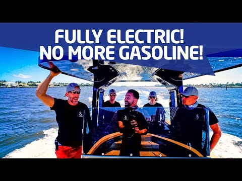 The Electric Boat Revolution has Arrived ! (XShore 100% Electric)