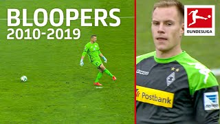 Top 10 Goalkeeper Bloopers of The Decade 2010-2019 - Bürki, ter Stegen, Leno & Co
