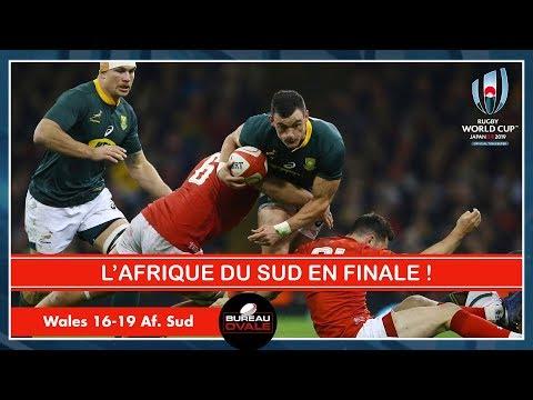 LES SPRINGBOKS EN FINALE VS L'ANGLETERRE ! Af. Sud 19-16 Pays de Galles (Débrief Coupe du monde)