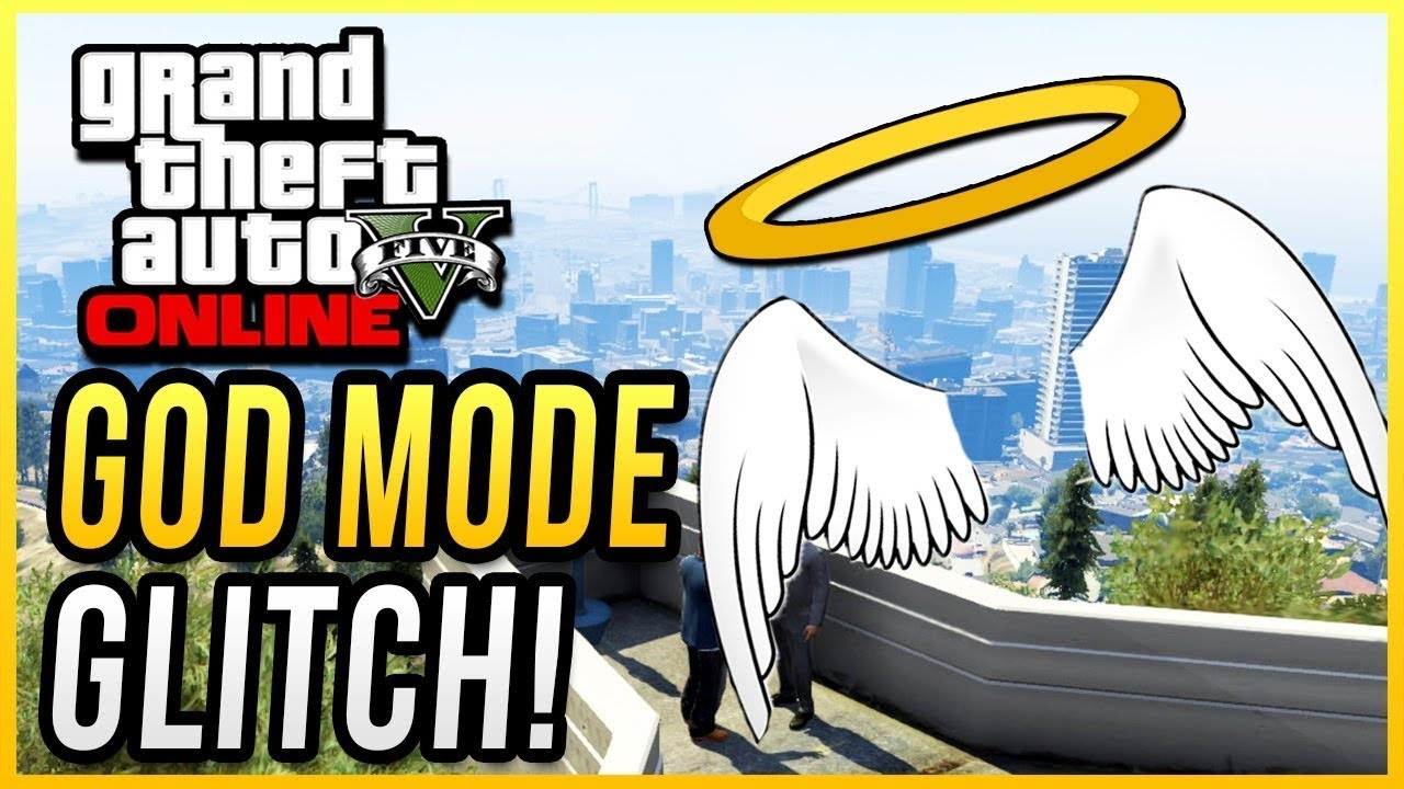 BRAND NEW SOLO GOD MODE GLITCH WITH ON/OFF SWITCH GTA ONLINE