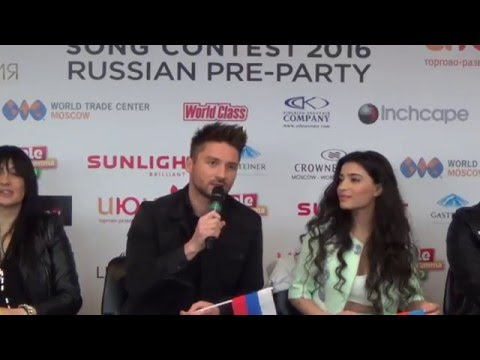 ESCKAZ in Moscow: Russian Eurovision party press conference Part 1