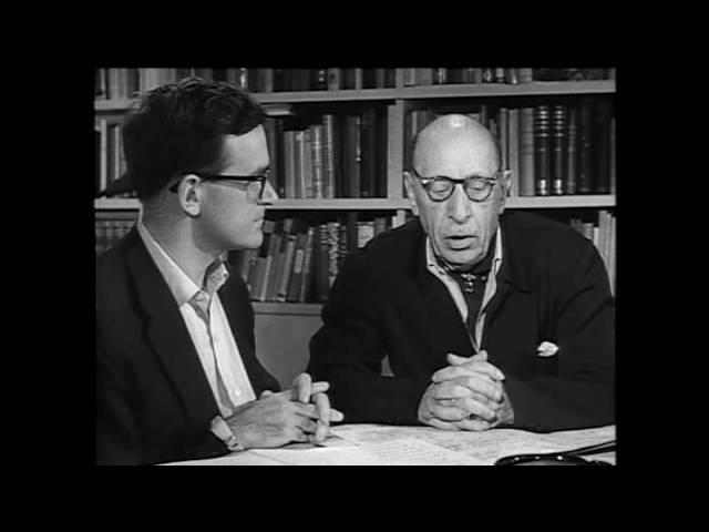 A Conversation with Igor Stravinsky, 1957