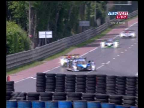 24 Hours of Le Mans 2009 Part 2 (German Commentary)