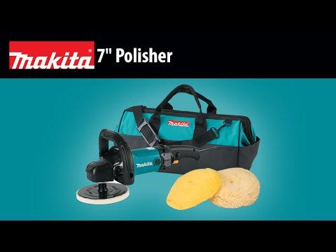 "MAKITA 7"" Polisher (9237CX3)"