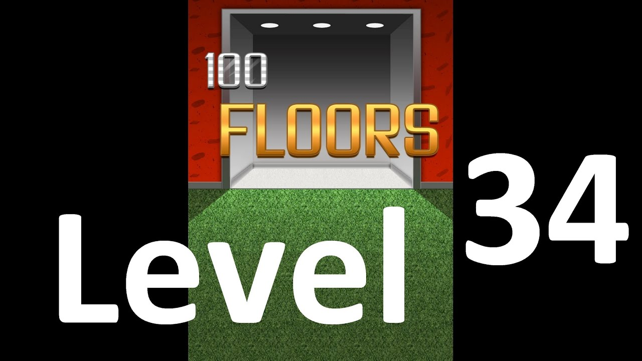 100 Floors Level 34 Solution Floor 34 Youtube