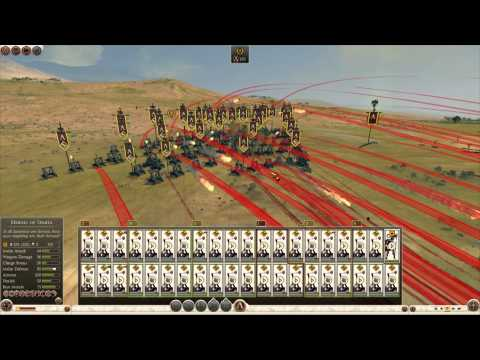 "Total War: Rome 2 - Massive Battles - ""40 units of Heavy Onager vs. HUGE Navies"""